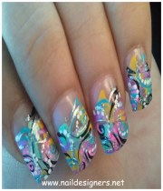 simple and creative nail design
