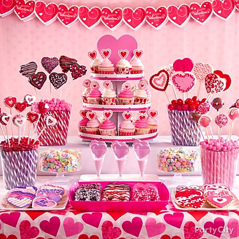 Valentines Day Decoration Ideas 2014 For Parties