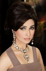 pakistani party makeup hairstyles