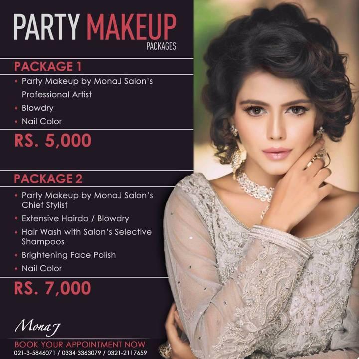 Makeup. Mona J Salon List 2018 Deals