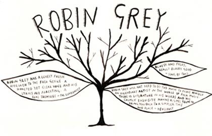 Robin Grey : gently experimental nu-folk