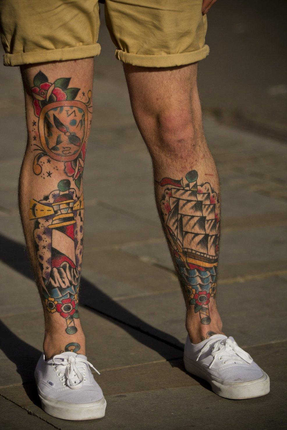 20 карточек в коллекции тату на голени пользователя Alexanderstgez