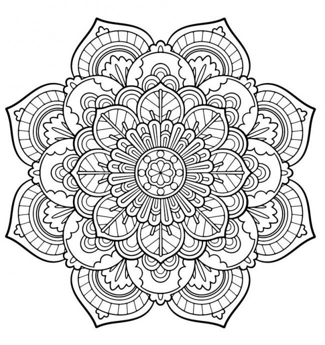 Mandala De Colorat Armonie și Relaxare Mandalas Cu