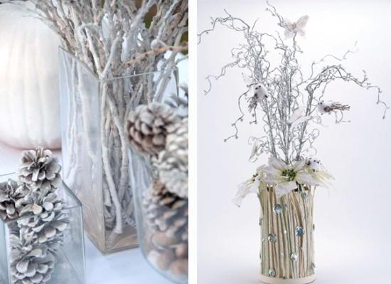 Originele winter decor