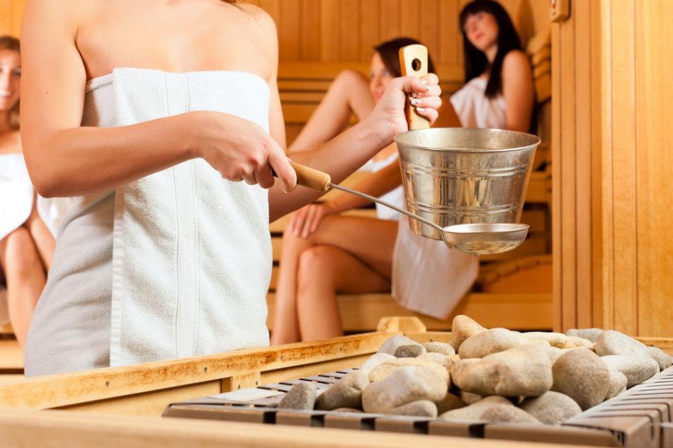 вкусно приятно в бане