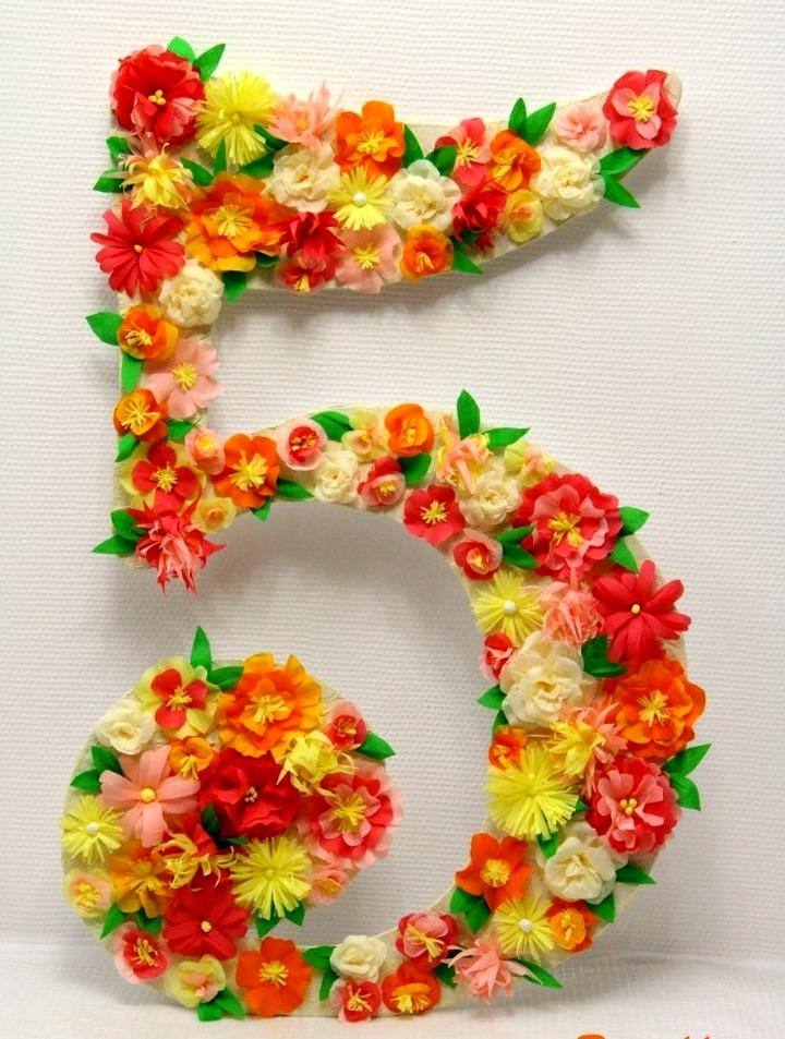 Dígito de la flor