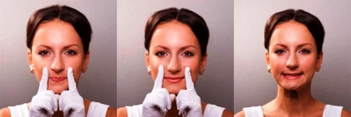 ยิมนาสติกสำหรับมุมริมฝีปาก