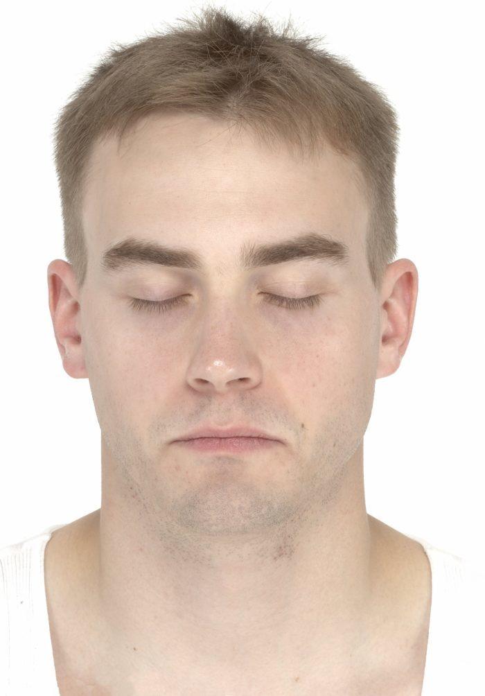 Quadratischer Kopf in der Physiognomie - MAN-Zuverlässigkeitsanzeige