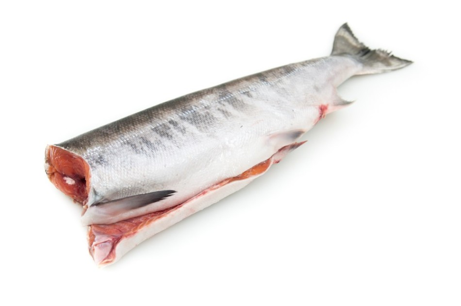 Πώς να Solit Salmon Fresh-Frozen σύνολο;