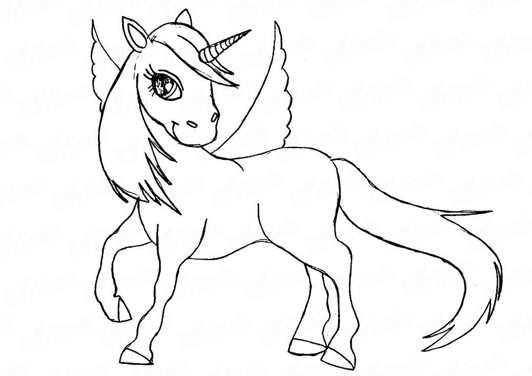 единорог картинки карандашом как нарисовать если всё-таки