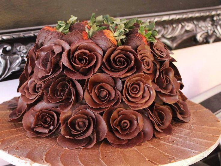 Çikolata gülleri
