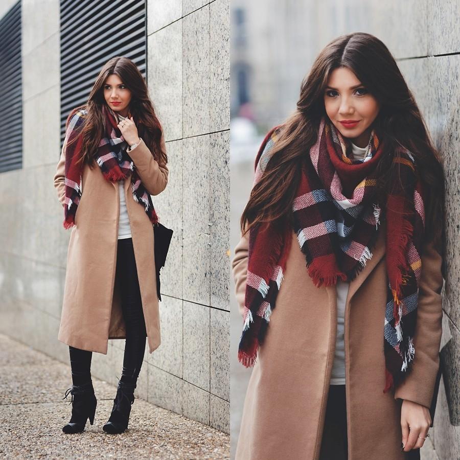围巾与外套