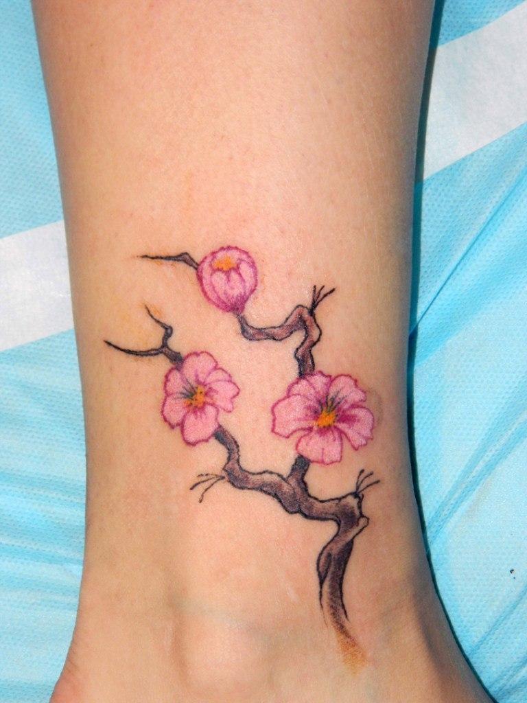 женские татуировки на щиколотке тату на щиколотке для девушек фото