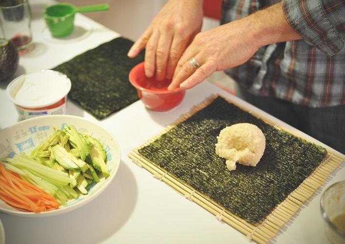 ठीक से पके हुए चावल को किसी भी आकार में आसानी से चित्रित किया जाना चाहिए