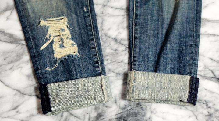 картинки как правильно заворачивать джинсы всех