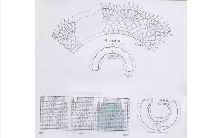Мектеп формасына арналған әдемі жақа мен тоқылған манжеттердің схемасы