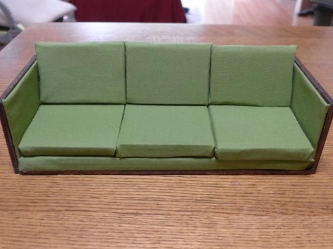 Karton párnák kanapé