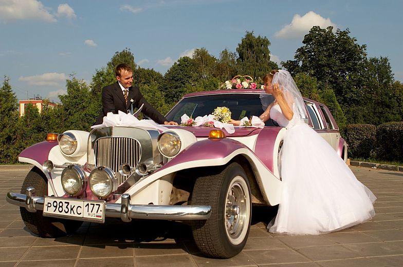 Exemples en décoration élégante de machines de mariage: photo