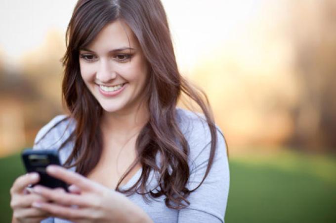 男性SMSを送る