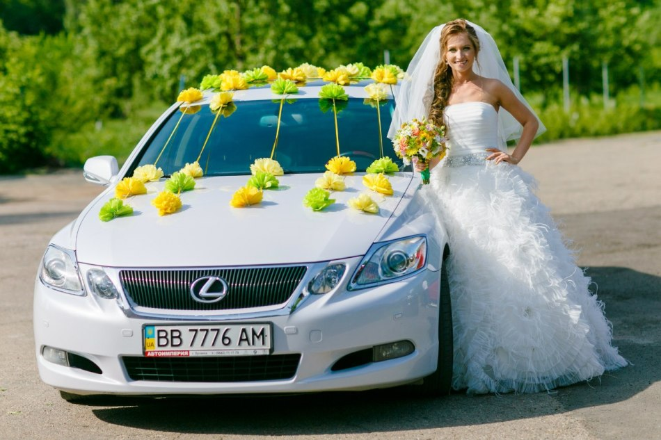 How to decorate a wedding car with your own Fatin?