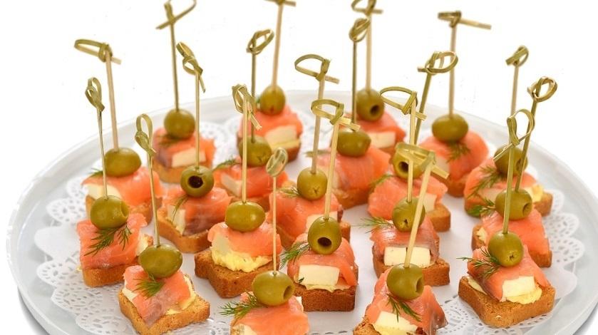 рецепты канапе с фото на праздничный стол давно удивляет мир