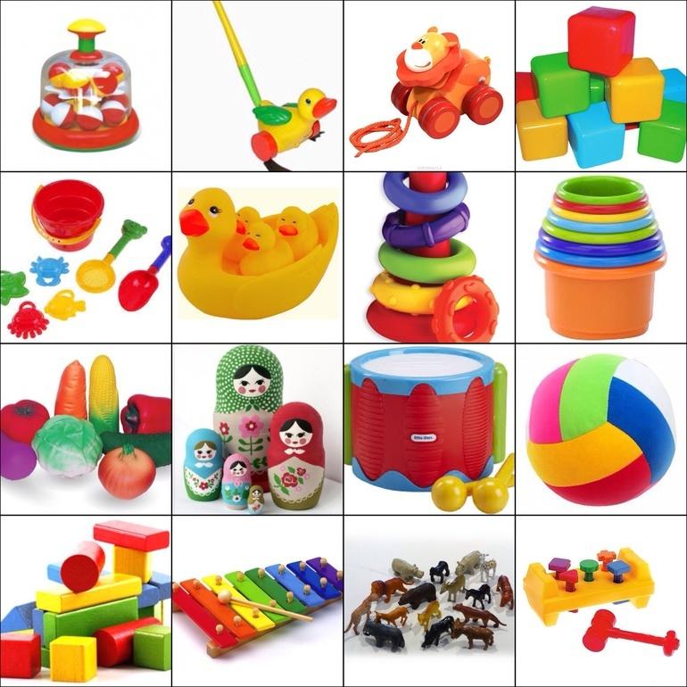 Игрушки для маленьких детей 2-х лет