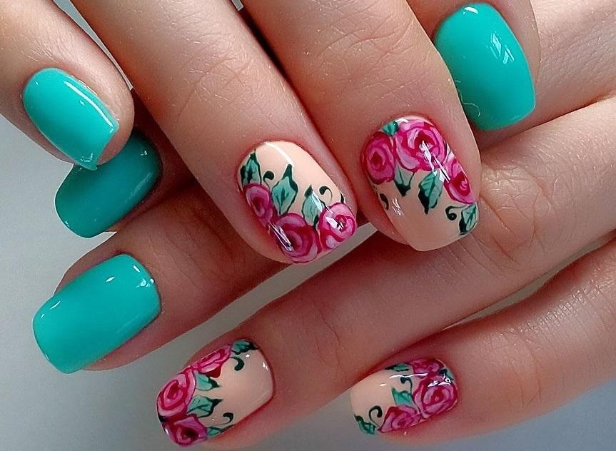картинки ногтей дизайн на весну