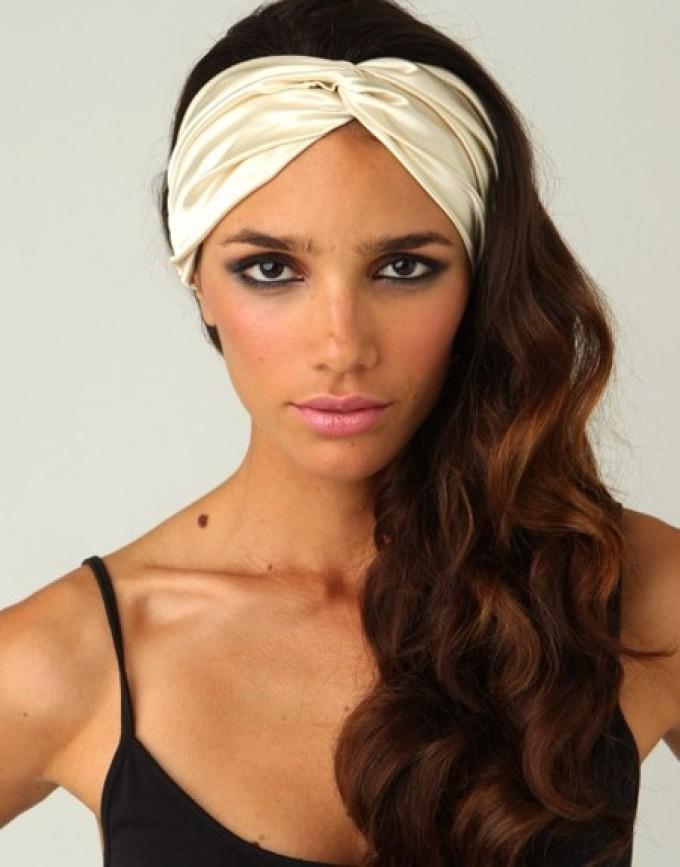 头巾下的头巾