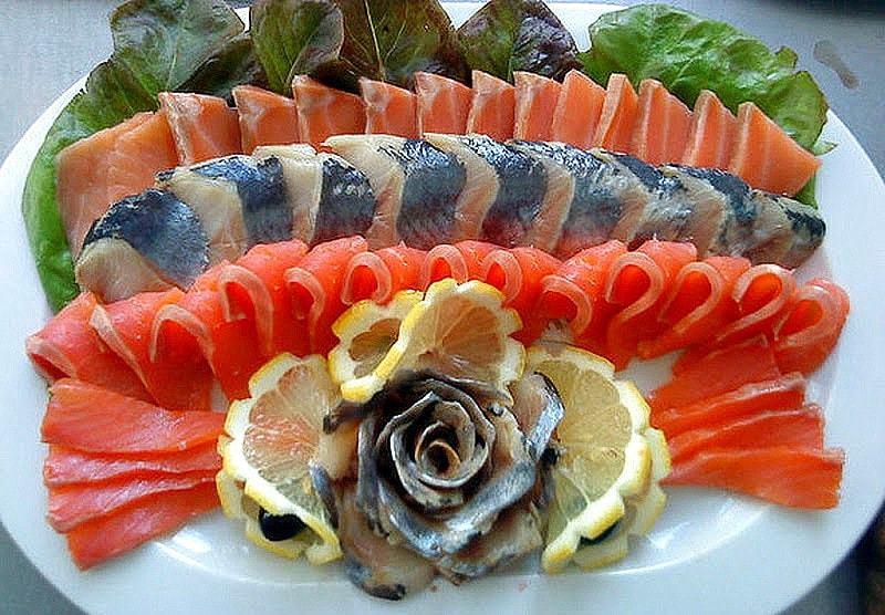 Как красиво подать рыбу на праздничный стол?