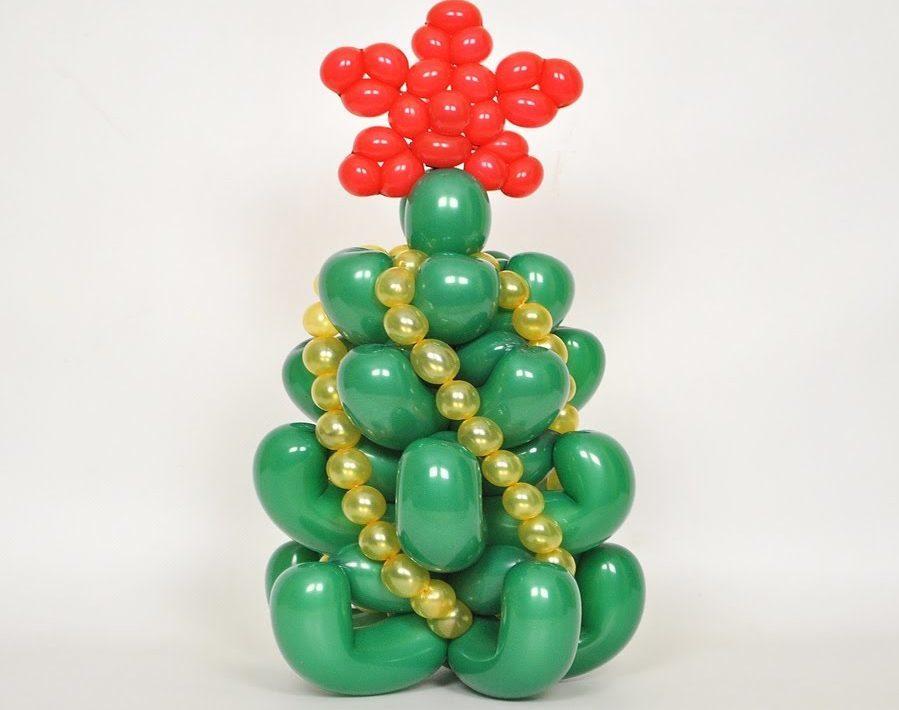Little Christmas tree of long balls