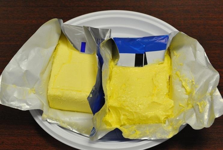 Масло не прилипает к обертке