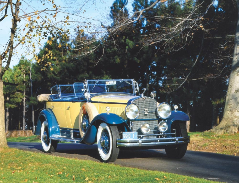 medium resolution of in 1927 harley earl brought style to gm with the la salle the influence of the la salle its sweeping fender lines and side mount spares spread to the