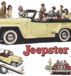 1950 willy jeepster wiring diagram [ 1859 x 1343 Pixel ]