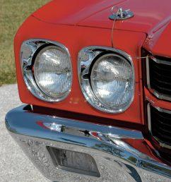 1970 chevelle ls6 headlamp detail [ 1362 x 2048 Pixel ]