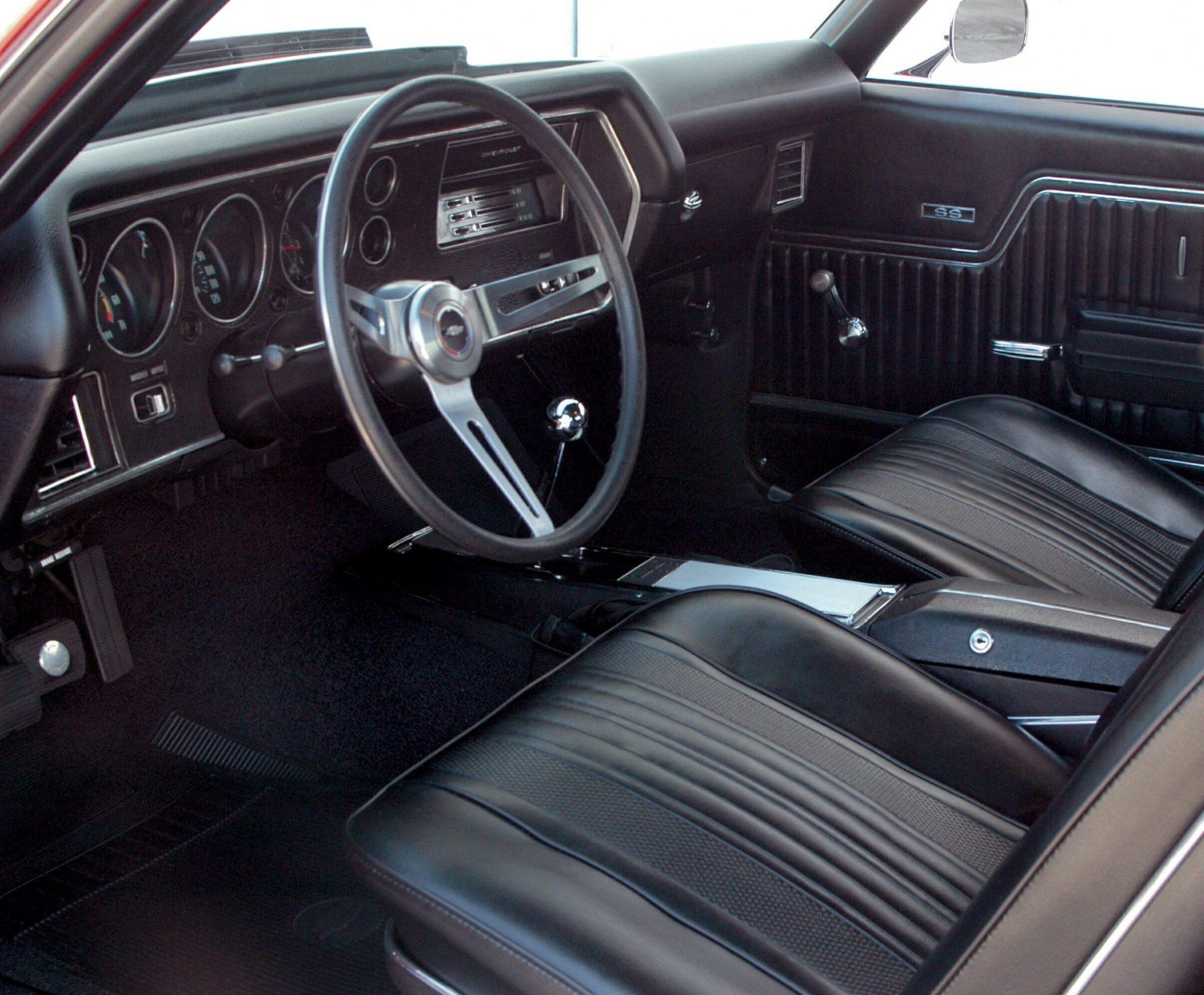 hight resolution of 1970 chevelle ls6 interior