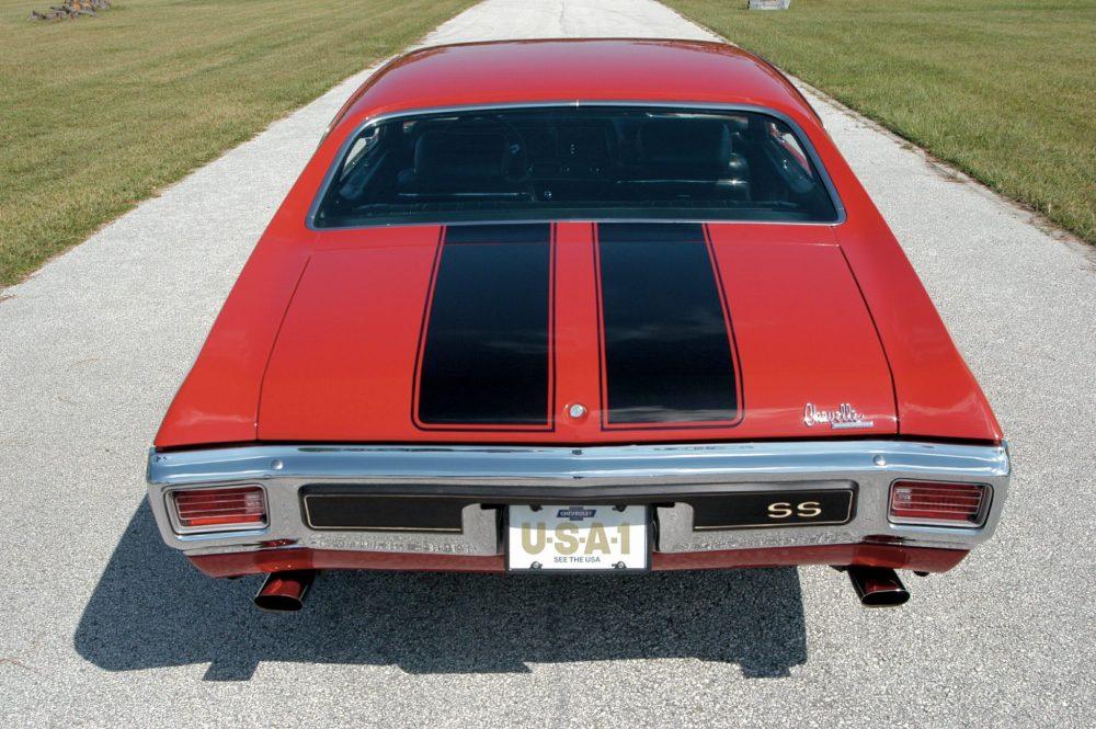 medium resolution of 1970 chevelle ls6 rear