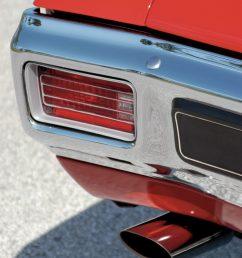 1970 chevelle ls6 tail light close up [ 1362 x 2048 Pixel ]