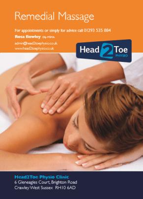 Xmas Massage Voucher