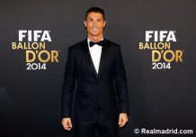 Ronaldo tuxed up