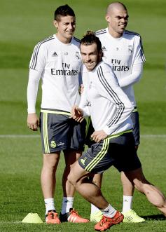 Creepy Bale, James, Pepe