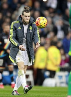 Bale catches match ball