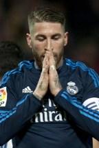 Ramos frustration