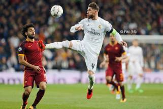 Ramos in the air