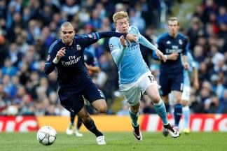 Pepe and De Bruyne