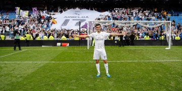 Arbeloa and his tifo