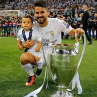 Isco and baby