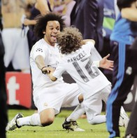 Marcelo with Enzo