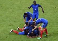 France group celebration