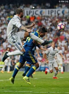 Sergio leaps