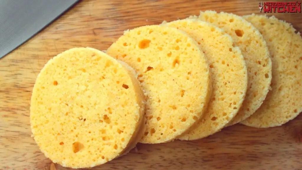 90 second almond flour mug bread